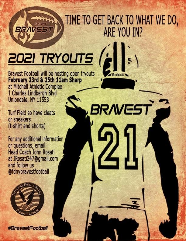 2021 football tryouts