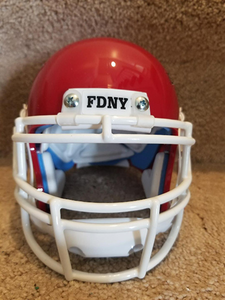 FDNY Bravest Mini Football Helmet