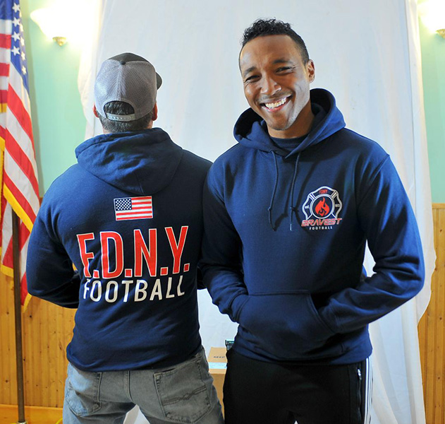 FDNY Bravest Football Sweatshirt
